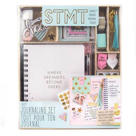 Stmt D I Y Journaling Kit Multi With Images Diy Journal