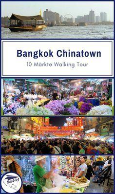Bangkok Karte.Chinatown Bangkok Highlights Per Walking Tour Karte Travel And