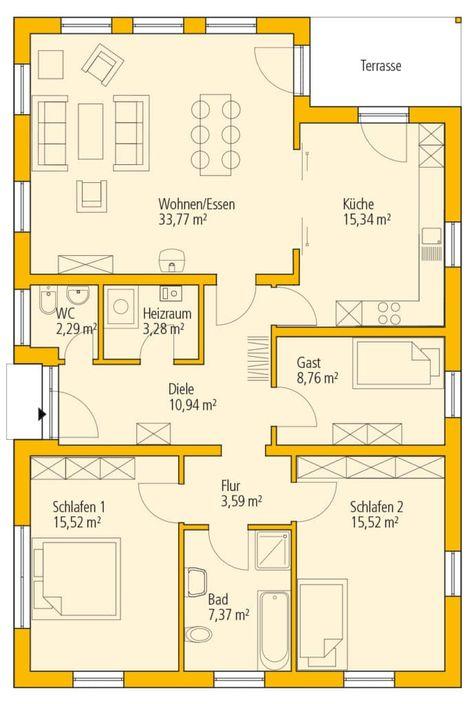 Plan De Maison Basse 6 Pieces Infos Et Ressources 5