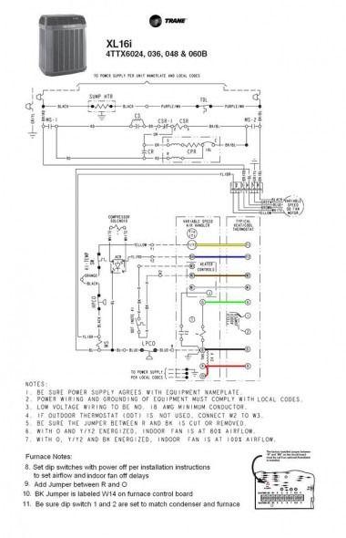 Trane Wiring Schematics | Wiring Diagram on