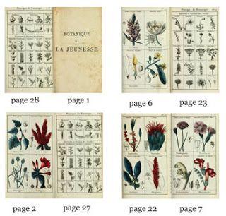 1812# Kleines Deko-Bücherset mit 4 Büchern M 1zu12 Puppenstube Puppenhaus