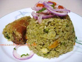 Cocinando Con Wendy Arroz Con Pollo Peruano Video Comida Peruana Pollo Peruano Arroz Con Pollo