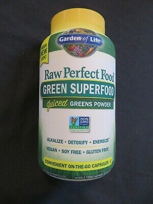 Sponsored Garden Of Life Raw Perfect Food Green Superfood Juiced Greens 240 Capsules D In 2020 Green Superfood Perfect Food Superfood