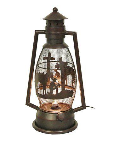 Love This Metal Prayer Plug In Lantern Light On Zulily Zulilyfinds Lantern Lights Lantern Candle Decor Lanterns