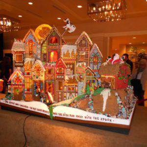 Christmas Activities Seattle.Sheraton Hotel Seattle Gingerbread Village Nov Dec