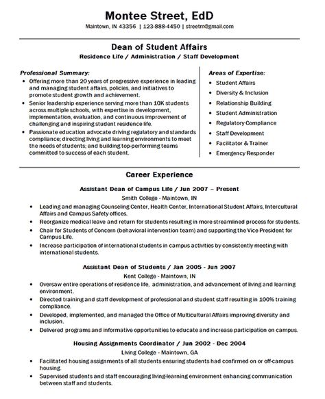 Resume Examples For Teachers Leaving Teaching Google Search In 2020 Dean Of Students Student Life Teacher Resume Examples
