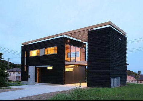 Grande maison moderne HQE Architecture