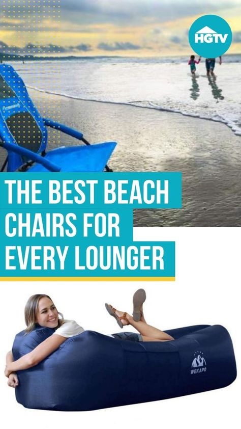Nothing can take a beach day from good to great quite like a quality beach chair. 🏖 Kick back and relax with one of these top-rated beach chairs that shoppers swear by. 🙏