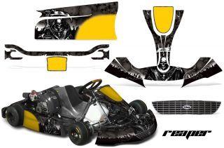 Amr Racing Kart Graphic Kit Righetti Ridolfi Xtr14 Rr Decals Part Grim Go Kart Kart Parts Racing