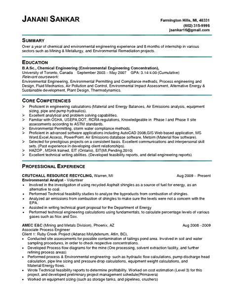 RONALD ZEHRFELD - Arbeitsblatt zur gleichnamigen PPt-Präsentation - process engineer sample resume