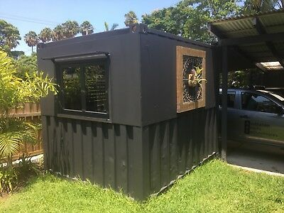 10ft Shipping Container Pop Up Shop Shed Cabin Storage Container House Shipping Container Shed Cabin