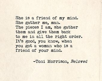 best beloved images beloved toni morrison toni morrison beloved quote inspirational art print typographic print typewriter series no