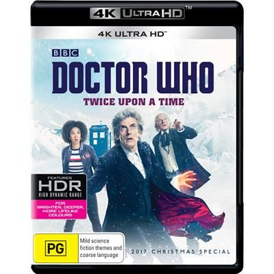Doctor Who Twice Upon A Time 2017 Christmas Special 4k Ultra Hd Jb Hi Fi Doctor Who Dr Who Christmas Special Doctor