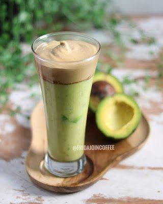 Paduan Rasa Yang Elegan Avocado Dalgona Coffee Caption Baper Resep Minuman Resep Minuman