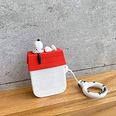Amazon Com Airpods Case Soft Silicone Shockproof Cover For Apple