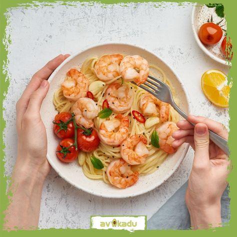 Wer hat Hunger auf #Spaghetti mit #Garnelen?  #italien #barilla #pasta #kochen #onlineshop #lebensmittel  #kochenmitliebe #kochenistliebe #kochenfürdiefamilie