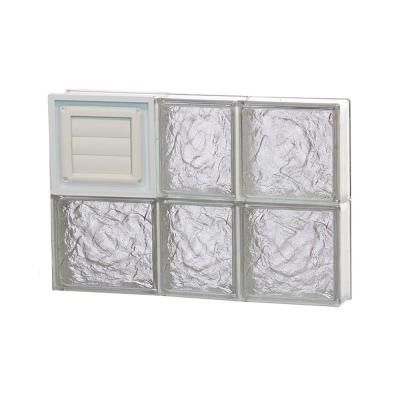 Clearly Secure 21 25 In X 15 5 In X 3 125 In Frameless Ice