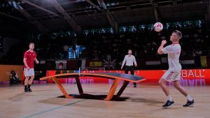 Teqball A La Decouverte De La Nouvelle Discipline Qui Attire Discipline Tennis De Table Ballon De Football