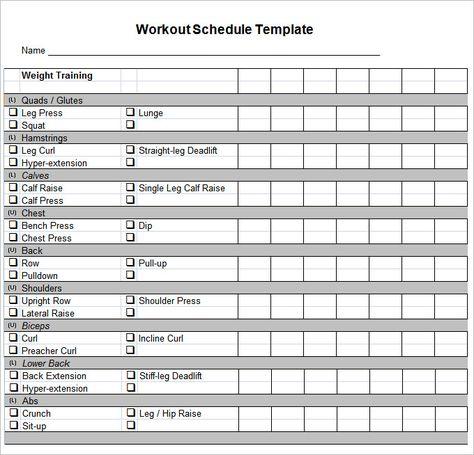Amortization schedule in excel ponad 25 najlepszych pomysw na workout schedule template u2013 10 free word excel pdf format amortization schedule pronofoot35fo Gallery