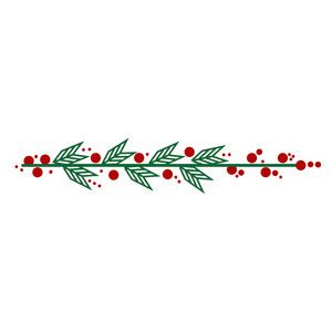 Christmas Vines.Silhouette Design Store View Design 235819 Christmas