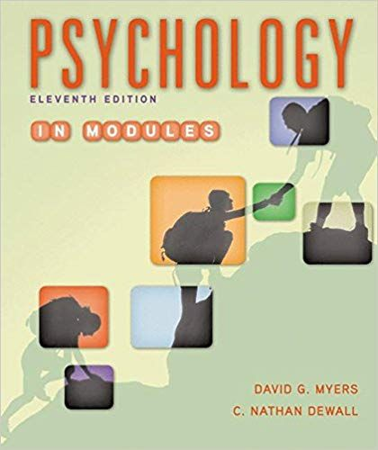 Psychology in Modules 11th Edition eBook, PDF