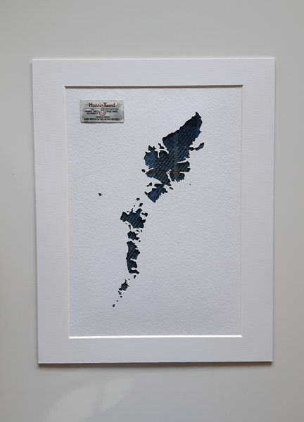 Outer Hebrides Map With Harris Tweed Picture With Images