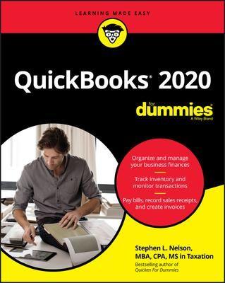 Download Pdf Quickbooks 2020 For Dummies Ebook Pdf Download