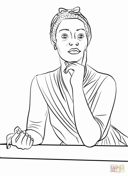 Rosa Parks Coloring Page African American History In 2020 Coloring Books Coloring Pages Phillis Wheatley
