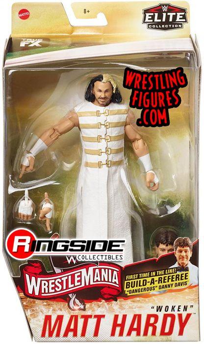 WWE Elite 75 Mattel Toy Wrestling Action Figure Jeff Hardy