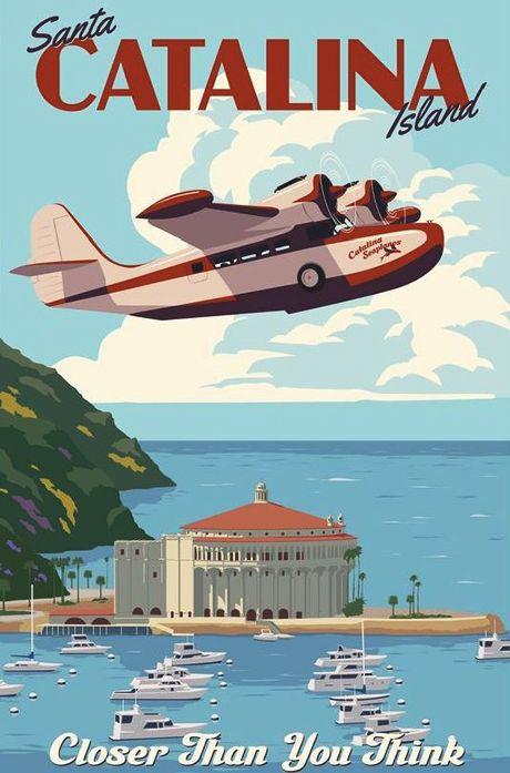 Thomas, Steve - Seaplane to Santa Catalina Island, CA