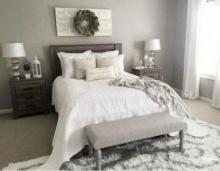 17 Ideas House Decor On A Budget Diy Master Bedrooms Farmhouse Style Master Bedroom Master Bedroom Colors Small Master Bedroom