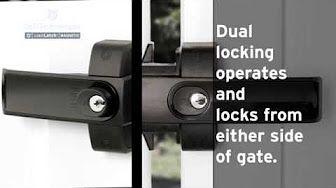 D D Lokklatch Magnetic Latch Youtube Gate Locks Iron Gate Latch Gate Latch