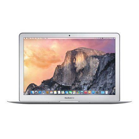 Apple Macbook Air Mjvm2ll A Intel Core I5 5250u X2 1 6ghz 4gb 128gb Ssd 11 6 Silver Refurbished Walmart Com Macbook Air Laptop Apple Macbook Pro Retina Apple Macbook Pro