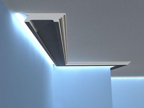 Lichtleiste LO-14 - Deckenprofil LED Lichtleisten Decke Pinterest - led lichtleiste küche