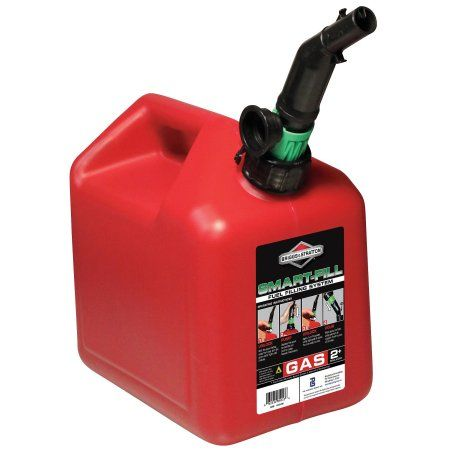 Buy Briggs Stratton Gas Can 2 Gal Red Self Vent Poly 85023g At Walmart Com With Images Gas Cans Stratton Briggs Stratton
