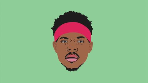 Illustrator Speed Art: Chance The Rapper