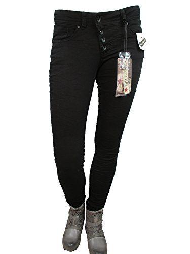 f5486f71c57d Buenavista Malibu Stretch Denim - S - Tiefschwarz | Jeans für Damen ...