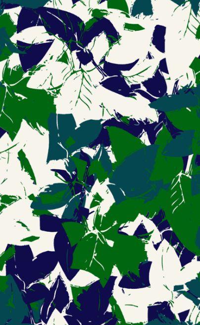 Green leafs pattern @patternbank #patternbank #pattern #surface #green