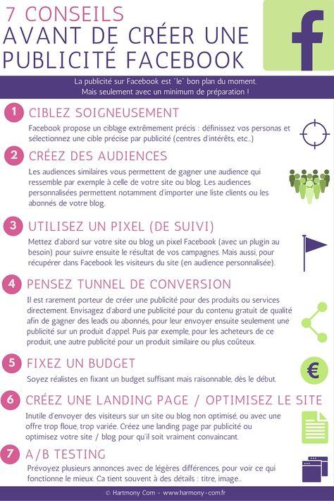 7 conseils avant de créer une publicité Facebook