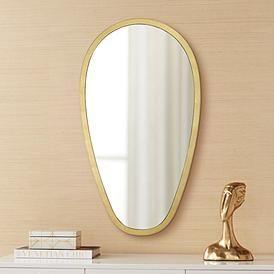 Trance Gold 20 X 36 Oblong Wall Mirror Mirror Wall Mirror Mirror Design Wall 20 x 36 mirror