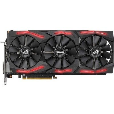 Asus Rog Strix Amd Radeon Rx Vega 64 Graphics Card 8gb 2048 Bit