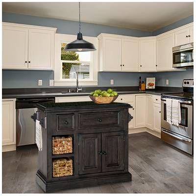 Earline Prep Table Kitchen Island With Granite Top Kitchen Renovation Modern Kitchen