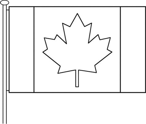 Canada Day Coloring Pages Flag Coloring Pages Coloring Pages