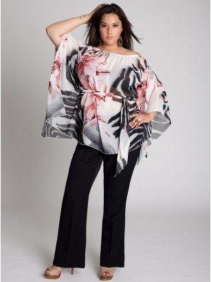 Plus Size Clothes by IGIGI Big girls wanna be pretty too!! | Big Fashion Show plus size clothing