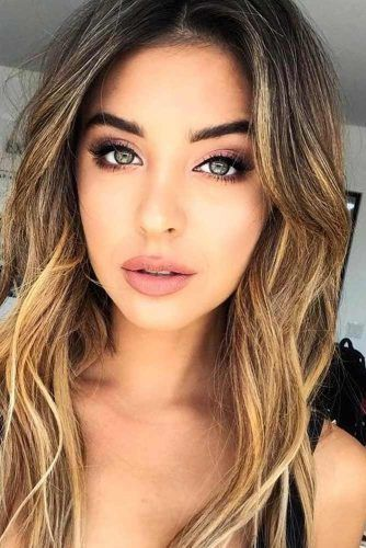 Everyday Makeup Ideas For Beautiful Ladies (17 Photos   cute