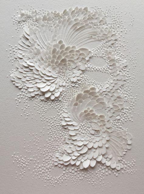 Bas Relief En Papier Aquarelle Grain Satine Format 20x15cm C