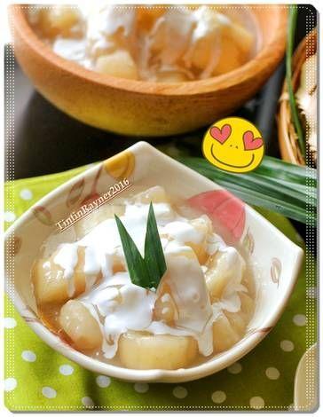 Resep Singkong Manis Ala Thailand Aka Sweet Casava Oleh Tintin Rayner Resep Resep Resep Masakan Makanan