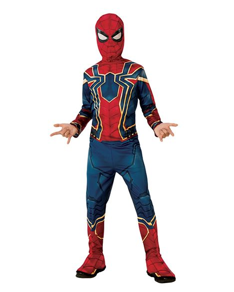 Kids Iron Spider Costume Infinity War Avengers Spider Costume