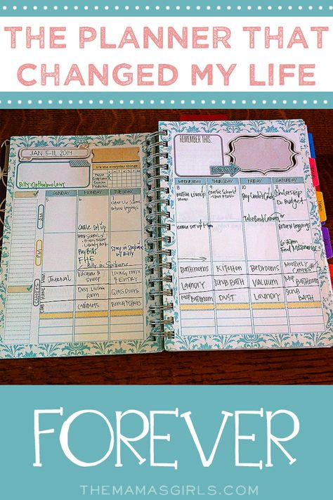The planner that changed my life! A must-have for moms!