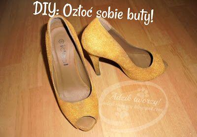Malowanie Butow Diy Farba W Sprayu Pumps Shoes Heels